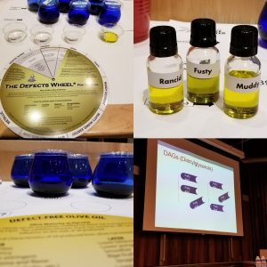 sensory evaluation with olive oil, great olive oil, taste olive oil, cooking with olive oil